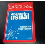 Larousse Diccinario Enciclopedico Usual