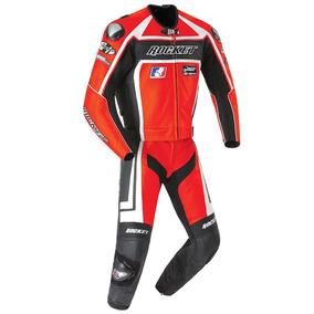 Traje 2pz Piel Moto Joe Rocket Speedmaster 5.0 Rojo