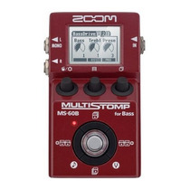 Pedal Pedaleira Zoom Multistomp Ms60b