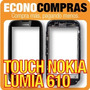 Touch Screen Para Nokia Lumia 610 Color Negro 100% Nuevo!!!!