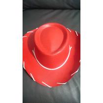 Sombrero Toy Story Rojo Jessy Woody Niño Fiesta Infantil