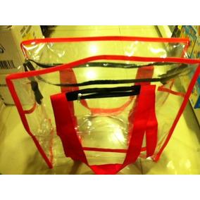 Bolsa Sacola Plástica Transparente Cristal 45cm, Tam. G