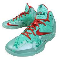 Exclusivos Tenis Nike Lebron Christmas Brillan En Lo Obscuro