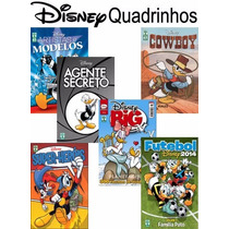 Revista Quadrinho Disney Big Tematica Mickey Avulso + Nf