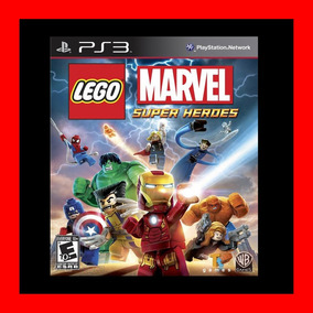 Lego Marvel Super Heroes Ps3 No Disco !!!