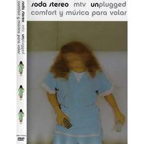 Soda Stereo Mtv Unplugged Comfort Y Musica Para Volar ( Dvd)