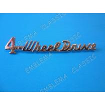 Emblema Jeep Willys 4-wheel Drive Para Leterales