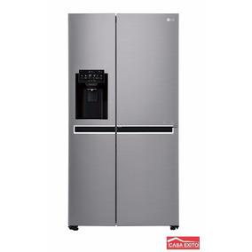 Refrigeradora Lg Gs65spp1 Side By Side 668l Platinum Silver