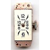 Antigua Maquina De Reloj Mujer Marca Venus 17 Rubies Suiza