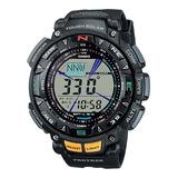 Reloj Pro Trek Prg-240-1 Triple Sensor Gtia 2 Años