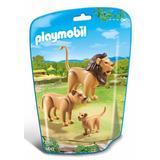 Playmobil Zoo Leon Con Su Familia 6642 Educando