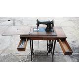 Máquina De Coser Cabiro Antigua Con El Mueble