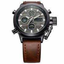 Relógio Masculino Militar - Analógico Digital, Frete Grátis