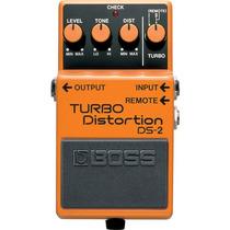 Boss Turbo Distortion Ds-2: Pedal De Distorção P/ Guitarra