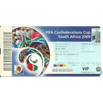 Ingresso Copa Confederações 2009 Usa X Brasil Final