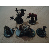 5 Figures Lot Wizkids 2000 Mage Knight