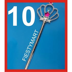 10 Cetros Varita Princesa Fiesta Disfraz Xv Recuerdo Dj Boda