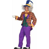 Foro De Alice In Wonderland El Traje Sombrerero Loco, Púrpu