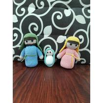 Nacimiento Misterio De Crochet 3 Piezas