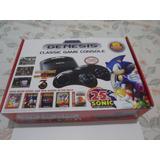Console Sega Genesis Mega Drive Classic 80 Jogos Novo Caixa
