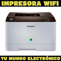 Impresora Laser Color Samsung C1810w, Wifi, 18 Ppm, Tienda