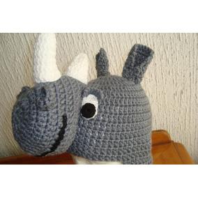 Gorros De Animales Tejidos Rinoceronte Y Conejo Envio Gratis