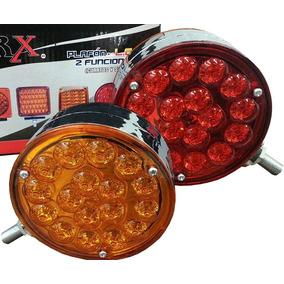 Plafon Redondo 34 Led Cuarto Y Stop Bicolor Tipo Kenw Pl085