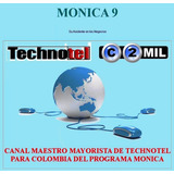 Programa Mónica 9 - Nuevo Dvd:original,sellado, Etc.$475.000