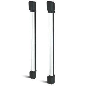 Barreira Iva Aluminio 4 Feixes 60 Metros Alf04 Sensor Alarme