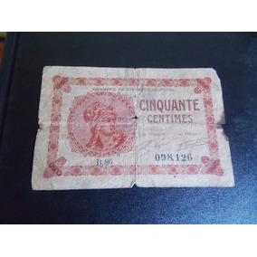 Cédula Francesa Para Colecionador R$ 60,00 + Frete