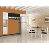 Cozinha Compacta Poquena Luana Com 7 Portas