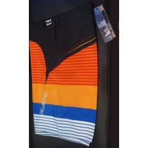 Shorts. Quiksilver Y Billabong. Originales Nuevos