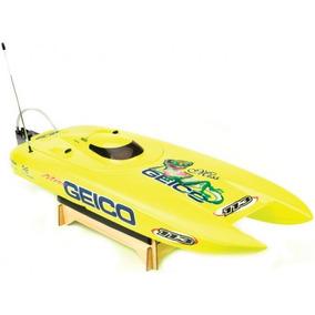 Lancha Rc Miss Geico 29 Brushless Rtr Catamaran