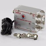 Amplificador De Señal Antena Tv Vhf Uhf 3 Salidas 20db Catv