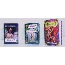 Libro Miniatura De Duendes, Hadas, Dragones, Magos Y Brujas