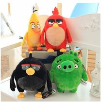 Kit4 Bonecos Angry Birds Pelúcia Pronta Entrega Frete Gratis