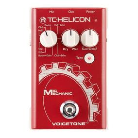 Tc Helicon Mic Mechanic . Processador De Voz . Pedal . Loja