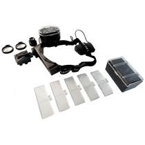 Lupa Optovisor Relojero 1-28x Con Super Led Con 11 Aumentos