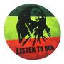 Mouse Pad Premium 20cm Tu Foto O Diseño Artista Bob Marley