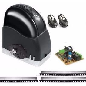 Kit Motor Para Portão Eletrônico Deslizante 1/4 Rcg 110v