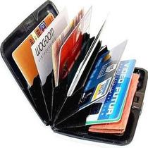 Carteira Porta Cartão Cartões Visita Crédito + Frete Gratis