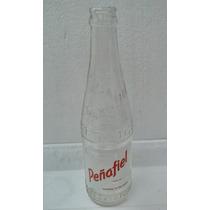 Botella Antigua Refresco Peñafiel De Tehuacan Con Corcholata