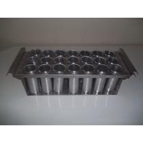 Forma De Picole Para 21 Picoles Em Aluminio