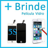 Tela Display Touch Original Apple Iphone 5s + Película Brind