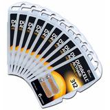 60 Pilhas Baterias A312 Pr41 Aparelho Auditivo - Duracell