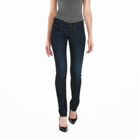 Jeans Oggi Milah Blak Skinny / Cintura Media 556 Mujer