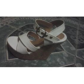 Hermozas Zapatillas Plataformas Color Blancas N2