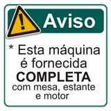 Siruba Reta Nova Motor Silencioso 110/220v Completa