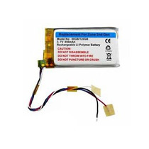Bateria Pila Nueva 850mah 3.7v Microsoft Zune 2gen 80 120gb
