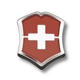 Broche Escudo Suizo Victorinox Rojo